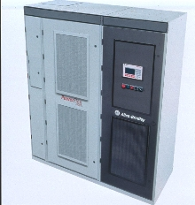 Medium Voltage AC Drive fits in small spaces.