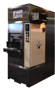 Parts Cleaning System has ultrasonic cavitation.