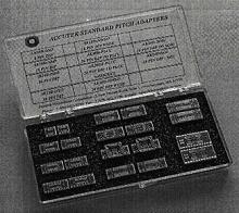 Adapter Kits facilitate prototyping.