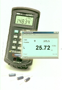 LCR Meter measures inductance, capacitance, and resistance.
