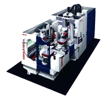 Horizontal Machining Center reduces non-cutting time.