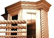Rope Mouldings are suitable for use as trim and borders.