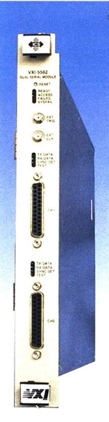 Interface Module provides 2 high-speed serial channels.