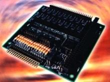 Digital I/O Board plugs into PC/104 slot or stack.