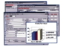 Manufacturing Software has QuickBooks interface.