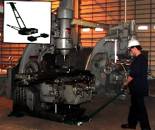 Moving System handles heavy, cumbersome equipment.