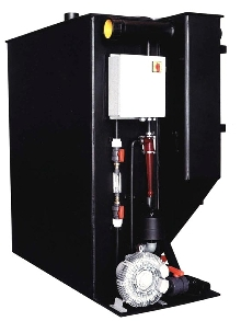 Water Reclaim System uses biological process.