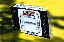 DC/DC Converters operate with high efficiency.