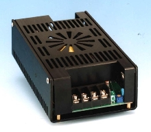 Enclosed Switching Power Supplies provide output of 150 W.
