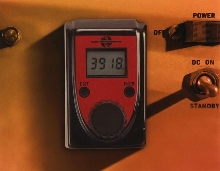 Potentiometer offers integrated digital display.