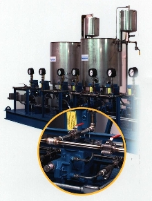 Chemical Feed Systems suit wide range of applications.