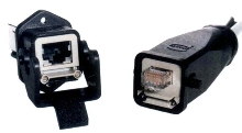 Ethernet Connectors designed for industrial environments.