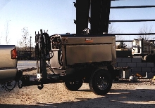 Welder comes with trailer package.
