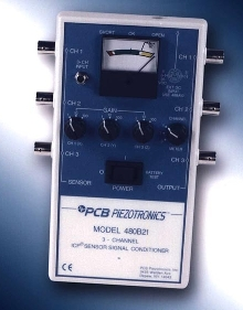 Signal Conditioner provides 3-channel, portable operation.