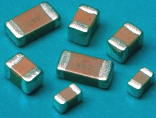 Ceramic Chip Capacitors work in decoupling and filtering.