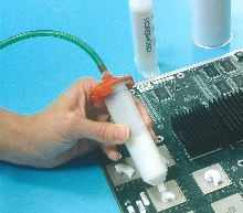 Gap Filler Materials reduce stress on solder joints.
