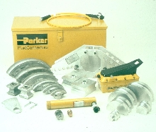 Tube/Pipe Bending Kits provide inch or metric tooling.