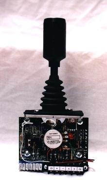 Driver Board provides electro-hydraulic valve control.
