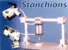 T-Slot Stanchions position equipment precisely.