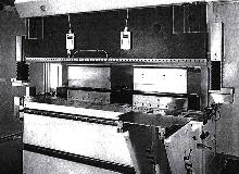 Laser System ensures press-brake operator safety.