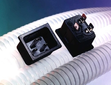 Snap-In AC Inlet is rated 20 A/250 V.