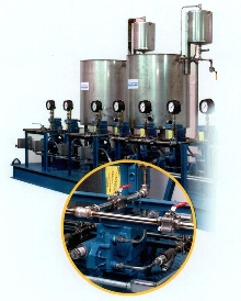 Chemical Feed Systems are custom built for CPI applications.