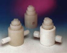 Pressure Regulators have Teflon® wetted parts.