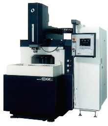 EDM Machine comes with automatic tool changer.