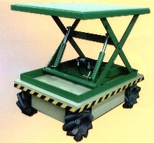 Scissor Lift offers omni-directional mobility.