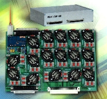 PCI/PXI Card Amplifier delivers analog outputs to 100 V.