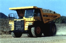 Dump Truck carries 61 ton payload.