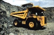 Quarry Dump Truck hauls 69 tons.
