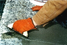 Concrete Repair Material sets up in as little as 2 hr.