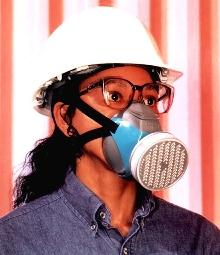 Half-Mask suits short-term construction projects.