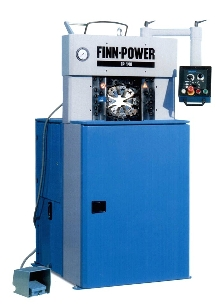 Swaging Machine offers swaging force up to 250 tons.