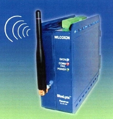 Wireless Data Link System offers 100 m transmission range.
