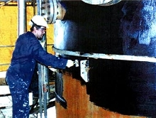Polymers repair and prevent corrosion under insulation.