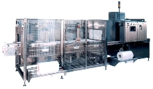 Shrink Wrapping Machines provide tray packaging.