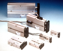 Air Cylinders provide precise non-rotating linear motion.