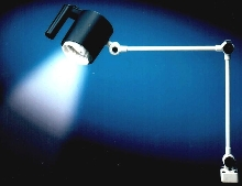 Halogen Work Light offers screw-out/in lamp changing.
