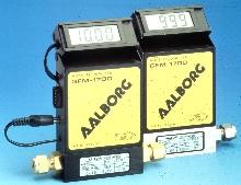 Mass Flow Meter has tiltable LCD.