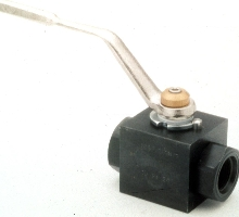 Ball Valves are rated to 6000 psi.