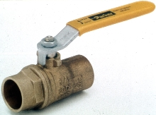 Ball Valves are offered in 1/2 through 2 in. sizes.