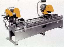 Double Head Mitre Saw suits production applications.
