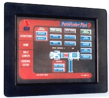 Touchscreen simplifies baler operation.