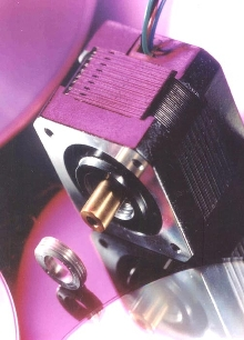 Stepping Actuator provides long controlled movement.