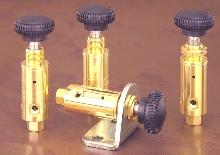 Air Regulator offers plastic adjustment knob.