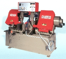 Band Saw offers semi- and fully automatic operation.