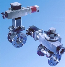 Rotary Actuators provide precise positioning.