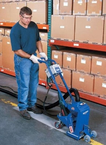 Shot Blasting System strips, cleans, and profiles in one step.